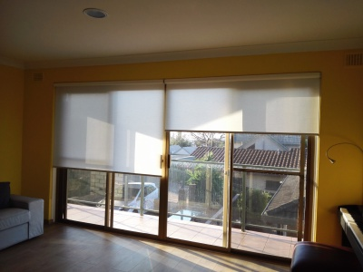 Linked Translucent Roller Blinds