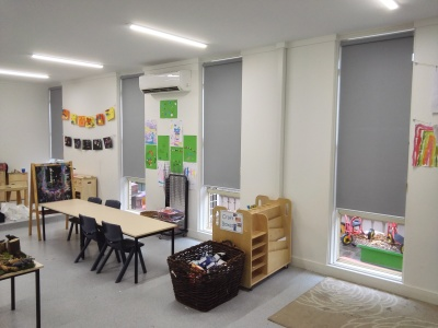 Roller Blind for Child Care Centre
